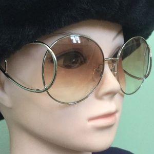 Chloe - 60mm Modified Round Sunglasses
